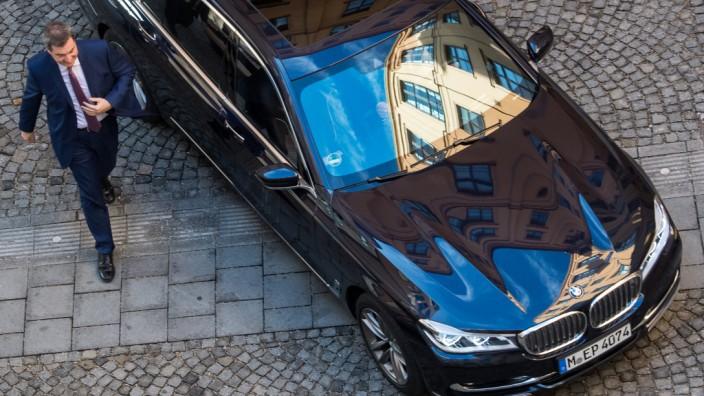 Ministerpräsident Söder Bayern Dienstwagen