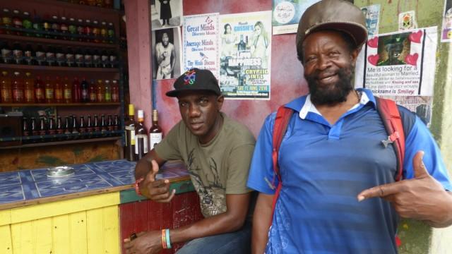 Bassist Flabba Holt Thema: Jamaika-Reportage Credit: Jonathan Fischer Honorar: Ja