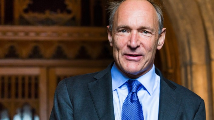 Tim Berners-Lee hat das World Wide Web erfunden.