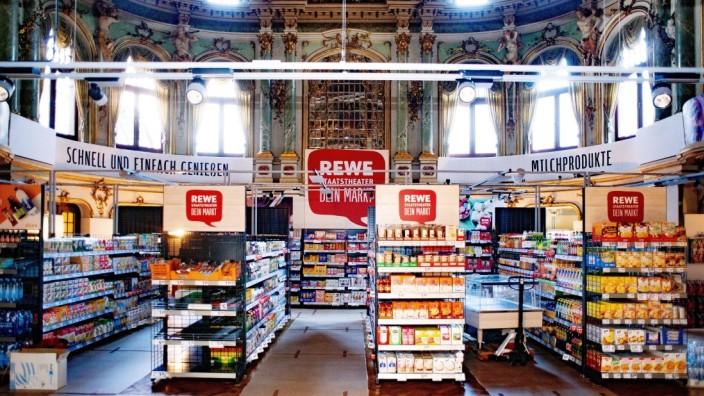 Rewe - Dein Markt; Wiesbaden Biennale Supermarkt