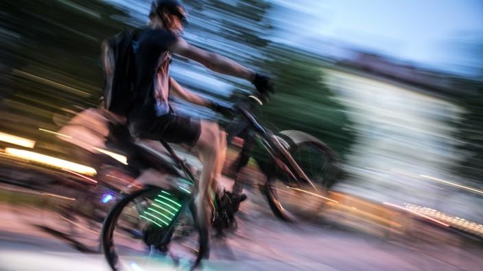 Rabiate Radfahrer in München