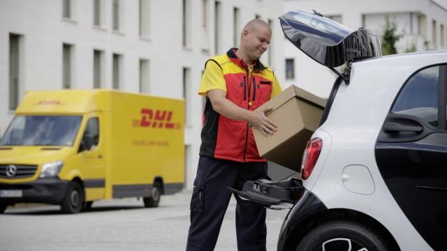 Wenn der Postmann keinmal klingelt - Paketzustellung ins Auto