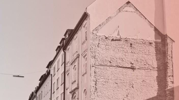Sozialsystem: Wohnhäuser in der Schleißheimerstraße in München