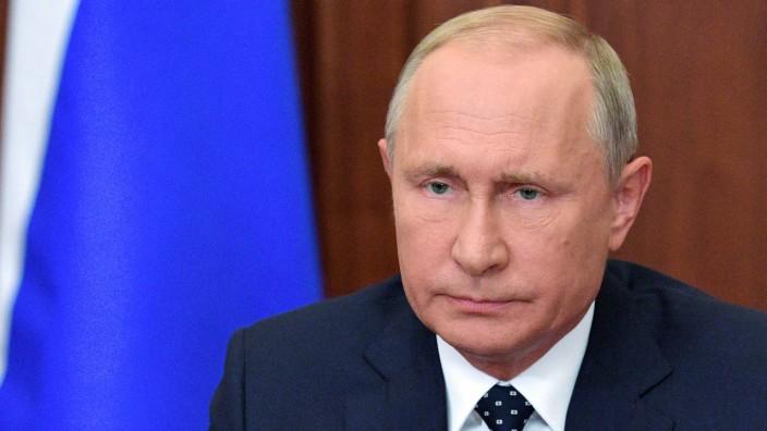 Russland: Hat sein Volk um Verständnis gebeten: Russlands Präsident Putin