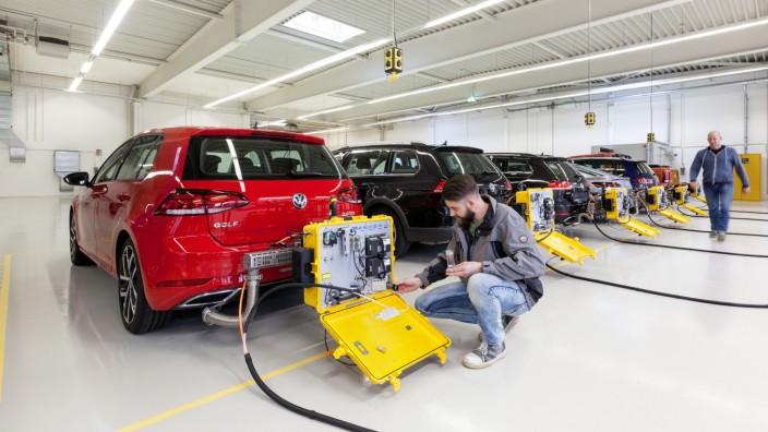 Vor der Umstellung auf die neuen WLTP-Abgastests - VW