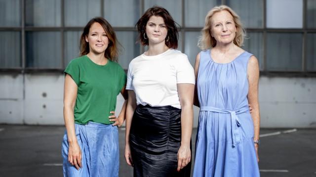 Caroline Kebekus, Sophie Passmann und Maren Kroymann