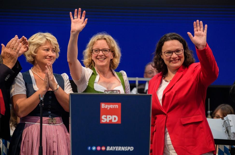 Politischer Frühschoppen auf Volksfest Gillamoos - SPD