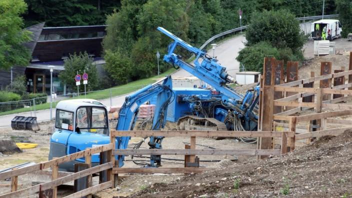 Am Kallerbach entstehen 70 Sozialwohnungen; Am Kallerbach in Tutzing