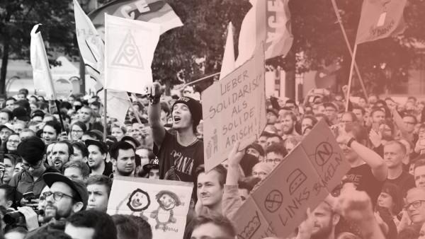 """Chemnitz: Fans beim Konzert """"Wir sind mehr"""""""