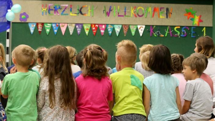 Grundschule Schulbeginn in Bayern