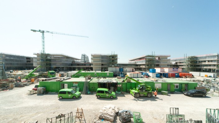 870 Millionen Euro hat die Stadt 2017 investiert, in den Bildungscampus Freiham etwa, für den 20 Millionen fällig wurden.