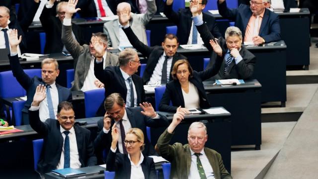 AfD im Bundestag