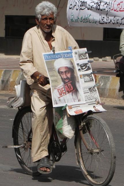 Osama Bin Laden killed in an operation in Pakistan