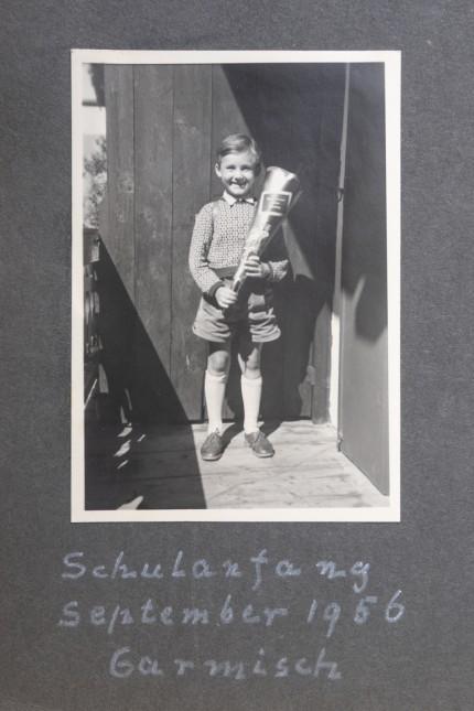 1. Schultag in Garmisch