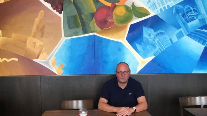 Uwe Dziuballa, jüdischer Restaurantbesitzer in Chemnitz