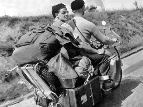 Reisen in den 60er Jahren, Foto: dpa