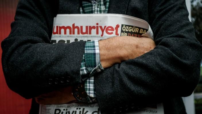 """Die türkische Tageszeitung """"Cumhuriyet"""""""