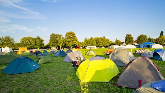 Klimacamp München in Vaterstetten