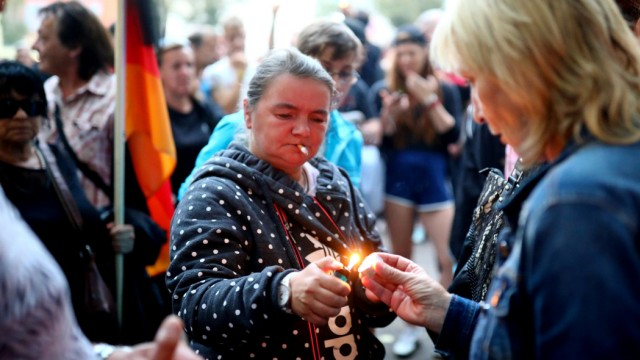 Köthen: Trauermarsch 2018 nach dem Tod eines jungen Mannes