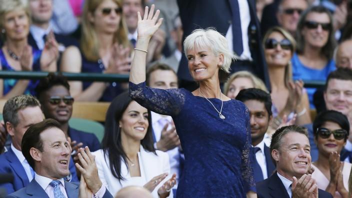 Judy Murray at Wimbledon