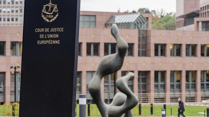 Der Europäische Gerichtshof (EuGH) in Luxemburg