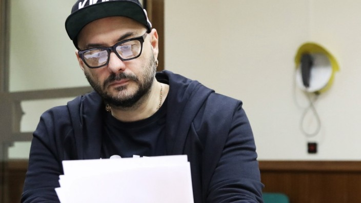 MOSCOW RUSSIA ñ SEPTEMBER 11 2018 Stage and film director Kirill Serebrennikov at a hearing into