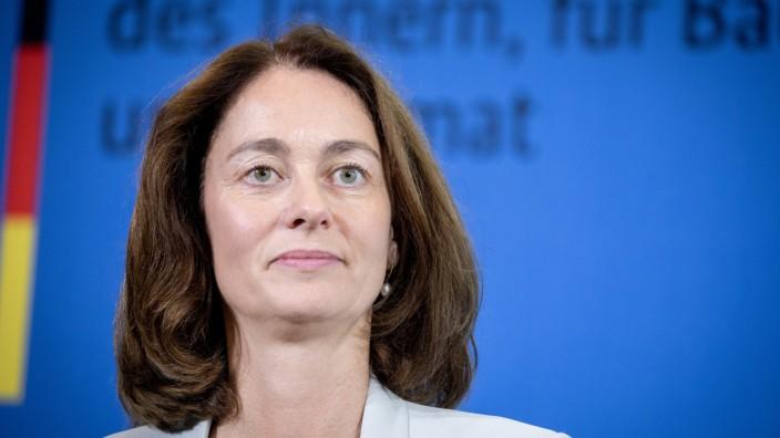 Bundesjustizministerin Katarina Barley (SPD) 2018 in Berlin
