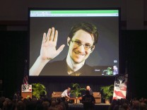 Edward Snowden: Millionen für digitales Snowden-Bild