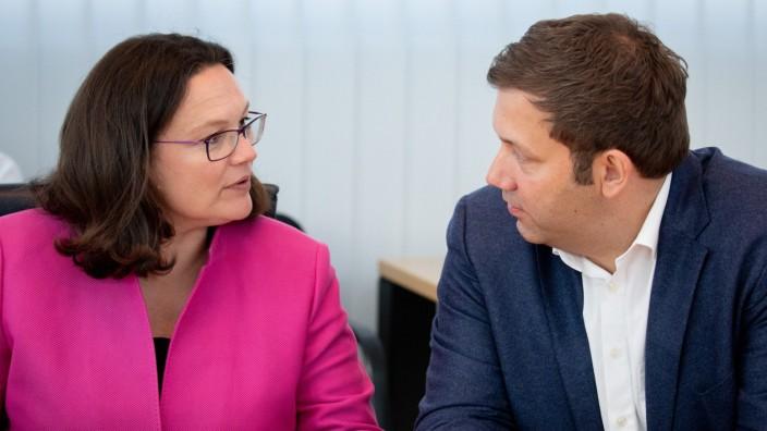 Andrea Nahles, Lars Klingbeil, SPD