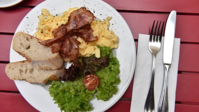 Frühstücken in Café Kitchenette in München-Sendling