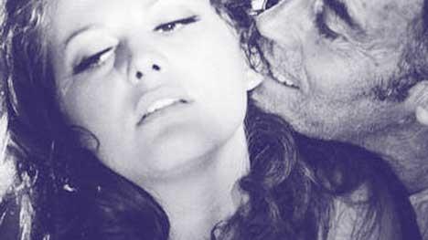 """Verwirrung um den Mann als solchen: Als Männer noch kraftvoll zubeißen konnten ... Claudia Cardinale & Henry Fonda in """"Once Upon a Time in the West""""."""