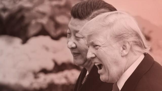 Donald Trump 2017 zu Besuch in China