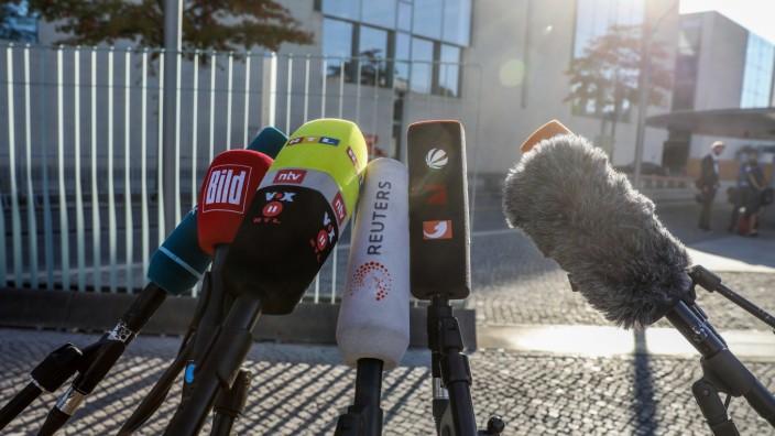 Koalitionstreffen im Streit um Verfassungsschutz-Präsident