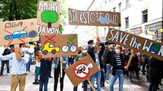 Datenanalyse: Demonstration gegen Feinstaubbelastung in München