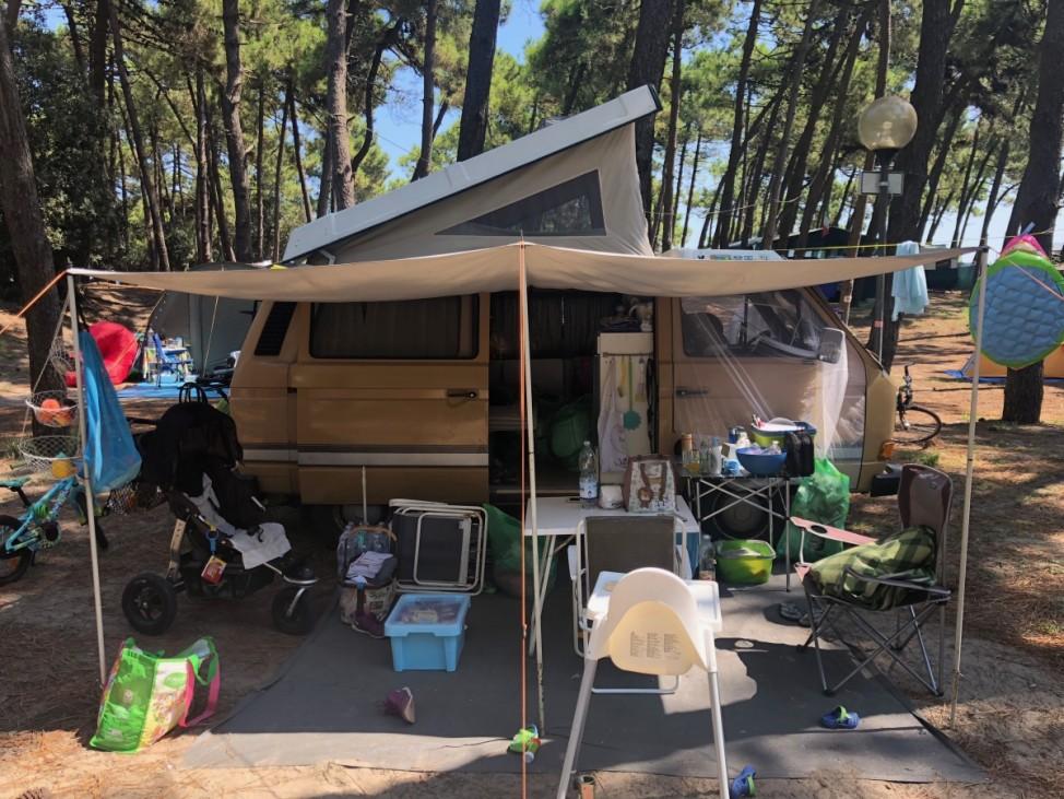 T3 und T6 Camping