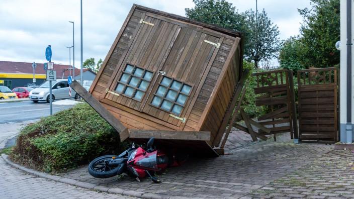 Sturmtief Fabienne: Verwüstungen in Rheinland-Pfalz