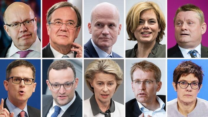 CDU: Diese Politiker sind die Zukunft der Partei - Politik - SZ.de