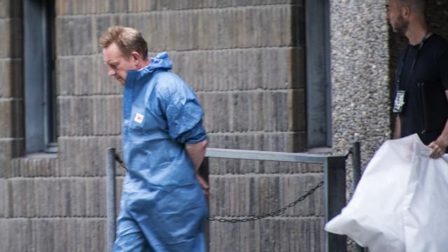 Peter Madsen 2017 während der Verhandlung zum U-Boot-Mord