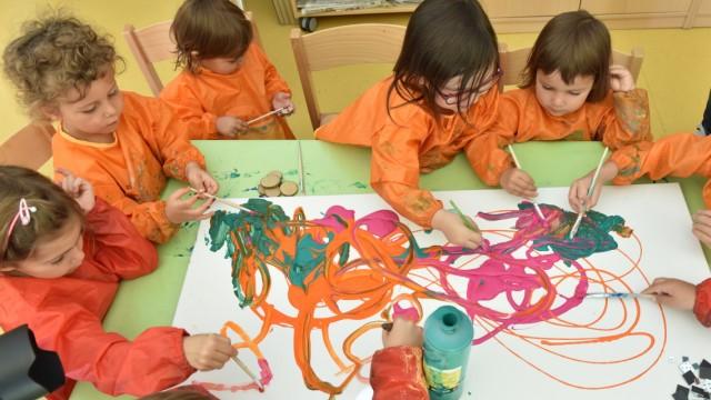 Die meisten finanziellen Zuschüsse landen in München bei der Kinderbetreuung.