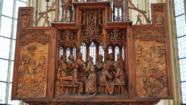 Rothenburg ob der Tauber St. Jakob Kirche Heiligblutaltar Tilman Riemenschneider