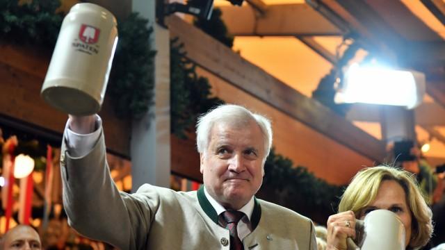 Horst Seehofer auf dem Oktoberfest 2017