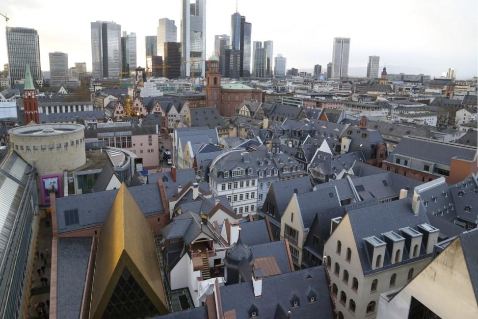 Die neue Altstadt, Blick vom Dom, Foto: 2018 © Uwe Dettmar