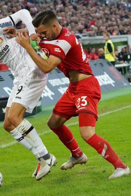 GER 1 FBL Fortuna Duesseldorf vs Bayer 04 Leverkusen 26 09 2018 Merkur Spielarena Duesseld