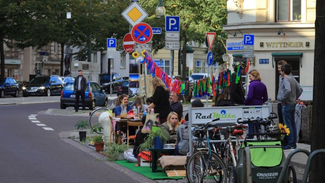 'Parking Day' in Magdeburg