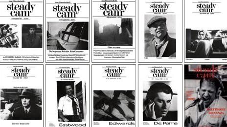 """Filmzeitschrift """"steadycam"""": steadycamim Laufe der Zeit: Von 1982 bis 1988 wuchs die Seitenzahl von zwölf auf 72 Seiten"""