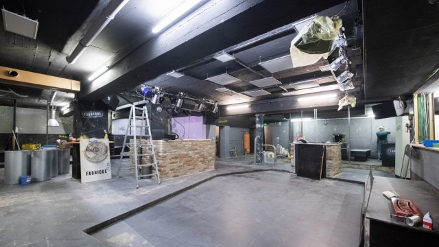 Bauarbeiten im Kulturhaus