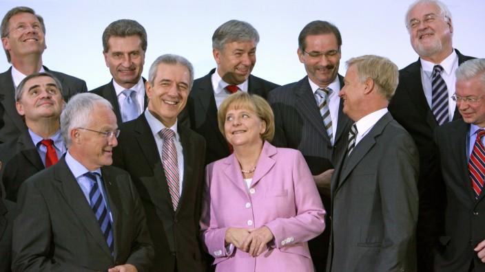 Bildungsgipfel der Bundesregierung in Dresden