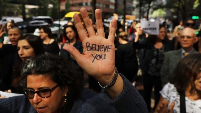 Proteste gegen den Supreme-Court-Kandidaten Brett Kavanaugh