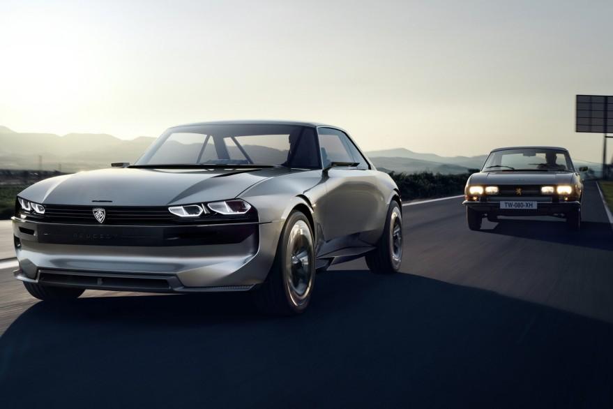 Zurück in die Zukunft: Peugeot zeigt Studie E-Legend