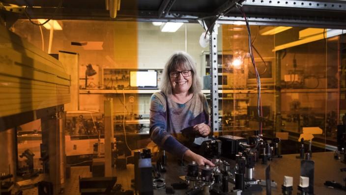 Physik-Nobelpreis - Donna Strickland